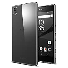 Xperia Z5 Case, Spigen Liquid Crystal - Slim Protection and Premium Clarity for Sony Xperia Z5 - Crystal Clear