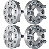 "Wheel Spacer,ECCPP Hubcentric Wheel Spacer Adapters 5 lug 4X 25mm (1"") 5x114.3 to 5X114.3mm or 5x4.5 to 5x4.5 Fits Honda Acura 64.1mm Hub with 12x1.5 Studs"