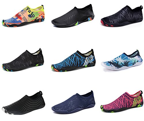 Womens Pool Water Yoga Swim Beach Shoes Socks Quick Purple Aqua Dry Shoes Surf for Mens Shoes Water Aerobics rvwqgx6Ev