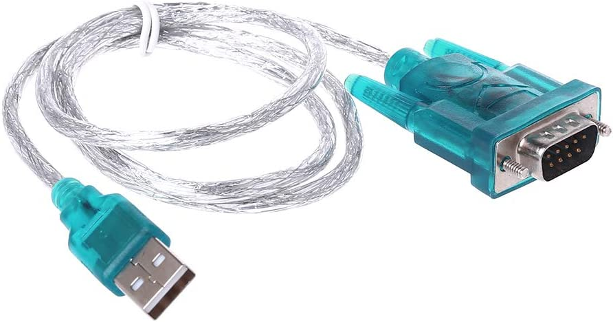 Baodanjiayou Convertor Adapter USB to RS232 Serial Port 9 Pin DB9 Cable Serial COM Port
