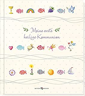 "230 x 250 mm goldbuch Kommunion-Erinnerungsalbum /""Pesce/"""