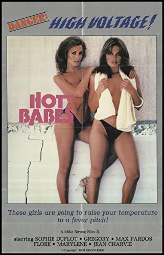 Hot Babes 1978 ORIGINAL MOVIE POSTER Adult - Dimensions: 24