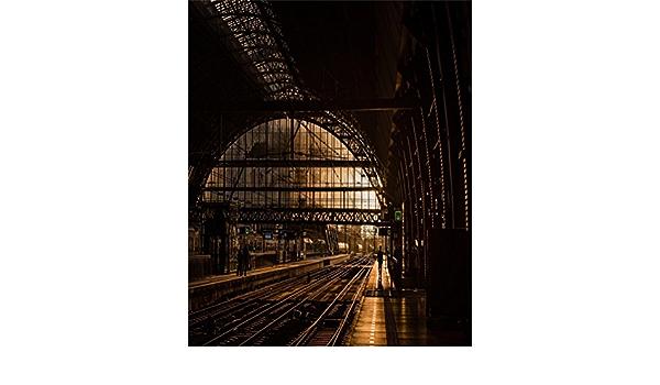 10x15ft Background Train Station Platform Photography Backdrop Photo Studio Props A180
