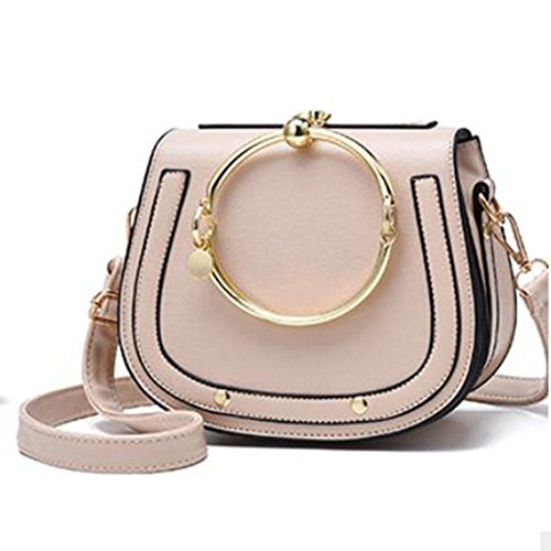 Women Women Clutches De Fashion Tote Handbags Women's Bolso Handbag Shoulder Bag Shoulder Bag Crossbody Bags Khaki Bags Shopping Bag Bag Leather 8B06BUS
