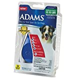 Dog Flea Treatment Collar - Adams Flea and Tick Spot On for Dogs, Medium Dogs 32-55 Pounds, 3 Month Supply, With Applicator