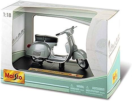 Bburago Maisto France- Moto Vespa de colección, Escala 1/18, Modelo Aleatorio, M34540