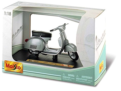 - Vespa- 125 Gtr In White Frmo Maisto 118 Scale Model (White)