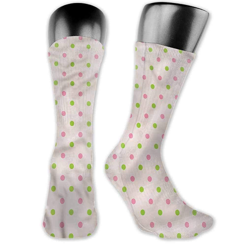 Funny Socks For Female Sox Polka Dots,Irregular Form Cluster,socks women
