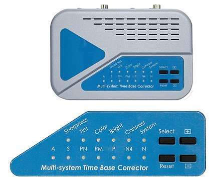 Digital Time Base Corrector (Premium Video Frame Synchronizer With Time Base/Color Correction)