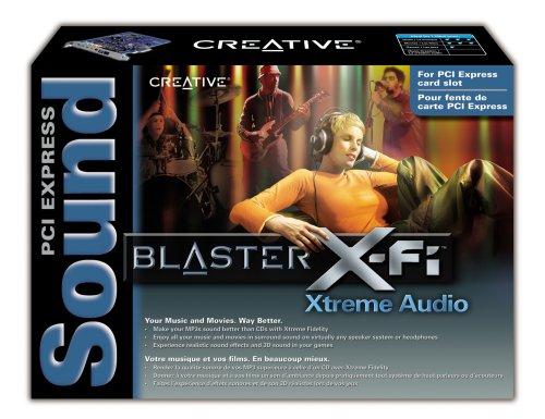 Creative SB1040 Sound Blaster X-Fi Xtreme Audio PCI-E Sound Card