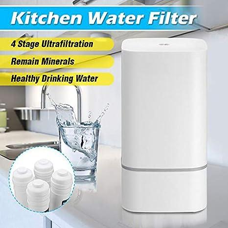 HWTP Purificador de Agua - Sistema de filtración de Agua de ósmosis inversa - Grado 4 RO Purificador de Agua - Filtro subacuático - Sistema de filtración de Agua ...