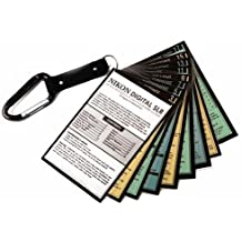 Nikon DSLR Tip Cards Cheat Sheets for D3400 D3300 D3200 D5600 D5500 D5300 D5200 D5100 D7200 D7100 D7000 D810 D800 D610 D600 D750 D700 D300S D500 1 V2 V3 Df D5 D4S D4 Photography Camera How To Guide