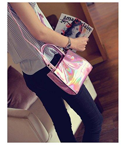 A Pink Argento Donna Spalla Borsa Silver Drasawee Small H05qp1wxnv