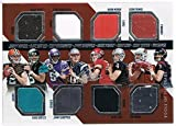 2014 Absolute Tools of the Trade Eight Player Jersey #MBBGMCTS Johnny Manziel/Blake Bortles/Teddy Bridgewater/Jimmy Garoppolo/Aaron Murray/Derek Carr/Logan Thomas/Tom Savage #d 012/249 RC Rookie