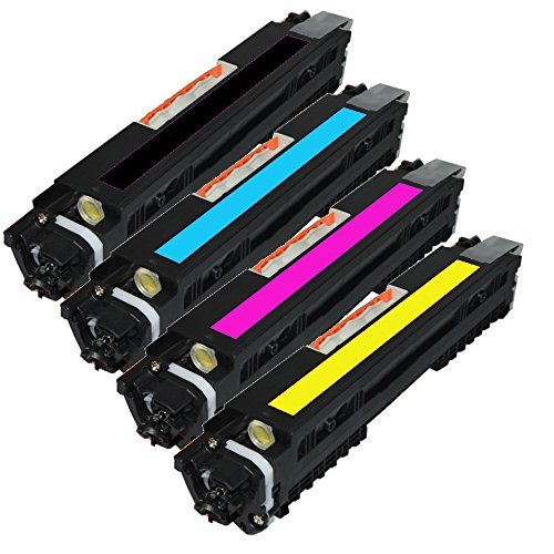 Global Cartridges Compatible Toner Cartridge Replacement for HP CF350A ( 4-Pack ) by Global Cartridges