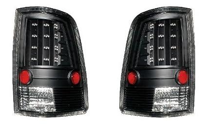 Depo 334-1909PXAS2C Dodge Ram Pickup Black LED Tail Light