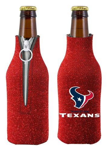 Houston Texans Bottle Suit Holder - Glitter