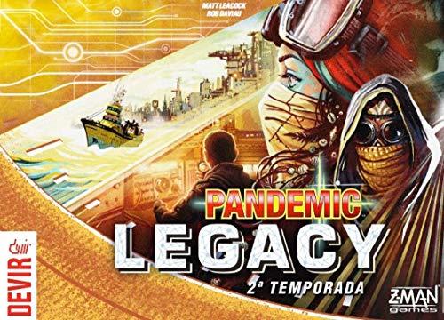 Pandemic Legacy Yellow 2ª Temporada - Devir
