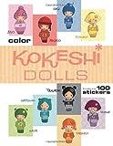 Kokeshi Dolls Coloring Book, , 1609052226