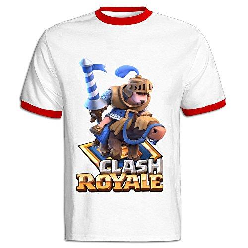 Lukeya Clash Royale Small Men T Shirt