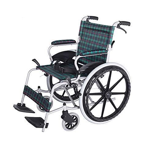 Amazon.com: Sillón de ruedas MS de aleación de aluminio ...