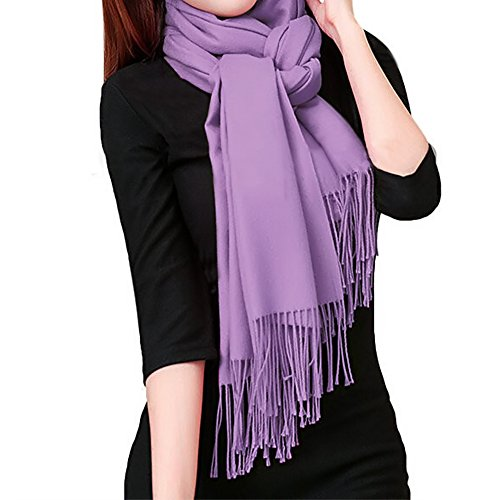 Soft and Warm Stylish Purple Scarf