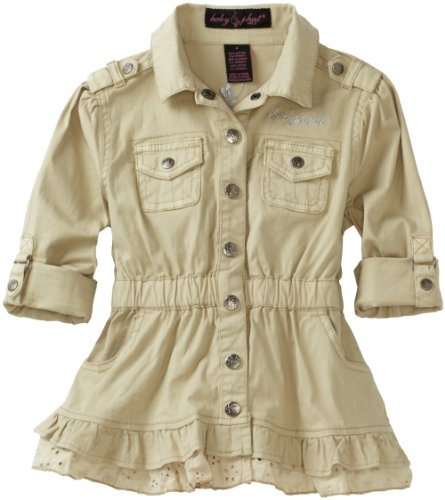 Baby Phat - Kids Little Girls' Twill Jacket