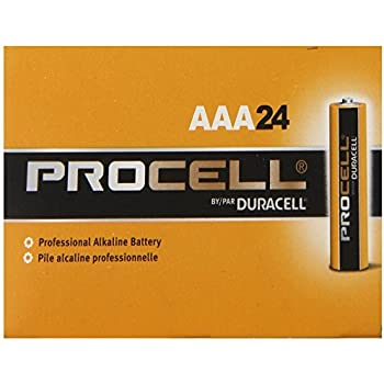 Amazon.com: Pack of 10 Duracell PC2400 Procell AAA Size