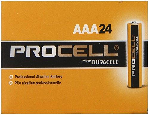 Pack of 10 Duracell PC2400 Procell AAA Size Alkaline Battery - Bulk Pack - Bulk Pack