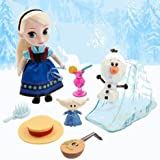Disney (Disney) Disney Animators' Collection Elsa Mini Doll Play Set - 5 '' Ana and The Snow Queen Elsa mini doll set [parallel import goods]