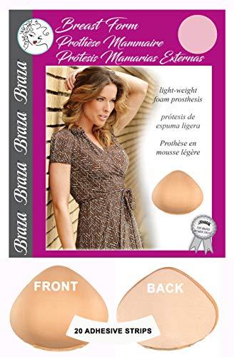 Braza Mastectomy Prosthesis Foam Breast Form Bra Insert Pad (7)