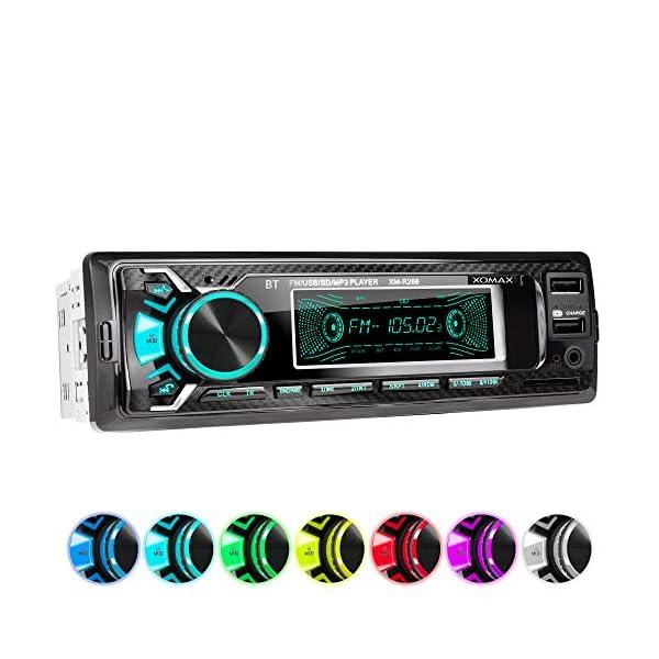 51mHUz1%2B8fL. SS600 - XOMAX Car Radio 1 DIN