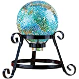 Mosaic Garden Gazing Ball Yard Decoration