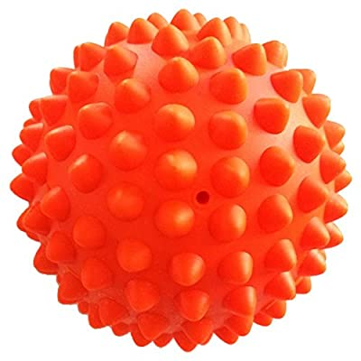 Reehut Massage Ball - Spiky - Variety for Trigger Point Therapy, Deep Tissue, Muscle Relief, Back, Plantar, Leg and Neck, Comfortable for Relax, Porcupine Sensory Ball, Rubber Ball