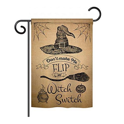 Flip my Witch Switch - Fall Halloween Decoration - 13