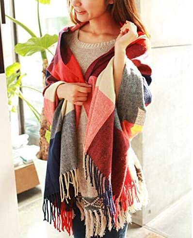 This unique gift idea for women over 40 is going to make your loved one all warm inside as well as outside. Add a pop of color to her collection of scarves and shawls by gifting her this beautiful and warm shawl. She will definitely love this warm and thoughtful gift all her life.