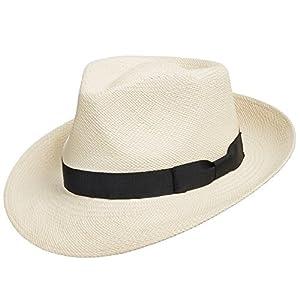 ULTRAFINO Genuine HAVANA Retro Panama Straw Hat Classic Lightweight ALL SIZES