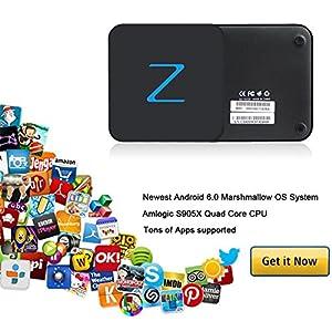1G/8G/4K]QcoQce Z Tv box Z11 Android 6 : I love it! The box itself