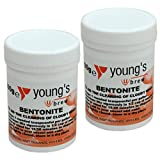 2x Bentonite 100g Youngs - Home brew Beer & Wine
