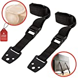 Waycy Anti-Tip TV Safety Straps for Flat Screen & Furniture Anchor Straps & Gift
