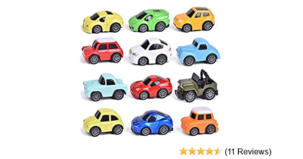 Easter Party Supplies Small Toys for Easter Eggs Press and Go Toy Cars for Easter Egg Stuffers,Goody Bag Stuffers Kids Easter Gifts FUN LITTLE TOYS 12PCs Easter Party Favor for Kids Classroom Prizes Toy