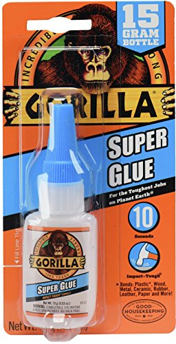 Gorilla Super Glue, 15 g, - Best Shop Glasses