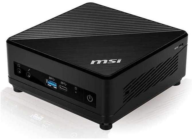 MSI Cubi 5 10M-025US Mini PC, Intel Core i5-10210U, 8GB DDR4 RAM, 512GB SSD, 802.11ac WiFi, BT 5.1, USB Type-C, Windows 10 Home