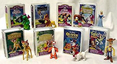 Mcdonalds Disney Video - 1997 Mcdonalds Disney Video Masterpiece Happy Meal Toys Set of 8