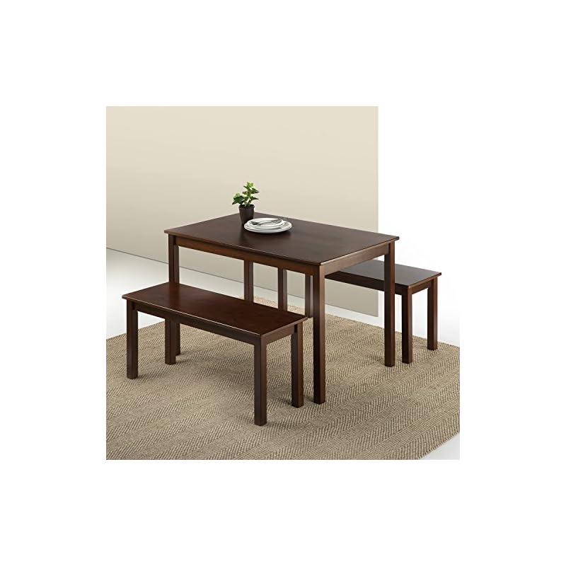 Zinus Juliet Espresso Wood Dining Table