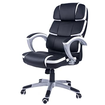 life carver office computer pu leather chair luxury designer swivel