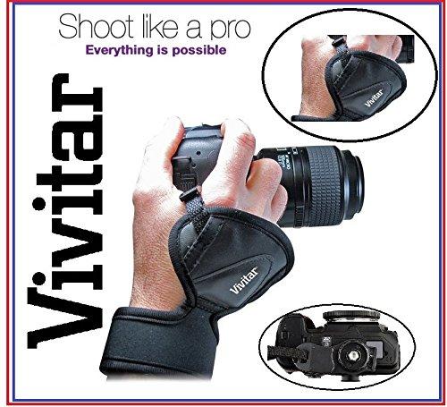 新しいPro Vivitarハンドグリップ手首ストラップfor Panasonic Lumix DMC - dc-gx9 dc-g9 dc-zs200 B07D1BKPV4
