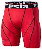 Tesla Men's Compression Shorts Baselayer Cool Dry Sports Tights S17-RDKZ_Large