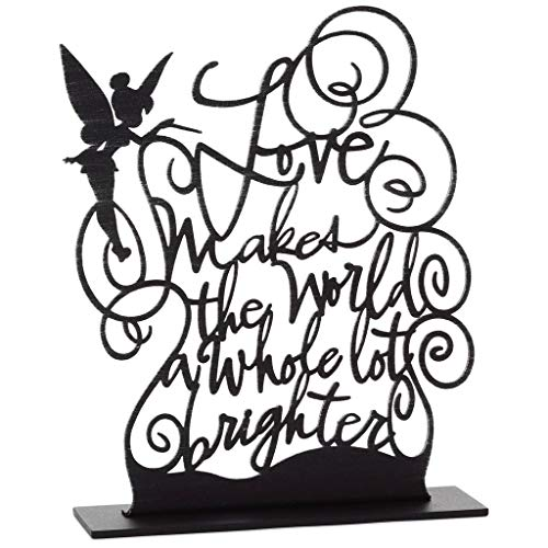 HMK Tinker Bell Brighter World Metal Quote Figurine