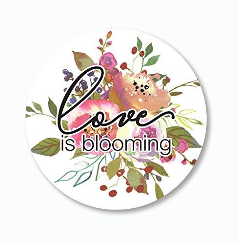 Let Love Grown Stickers, Love is Blooming Wedding